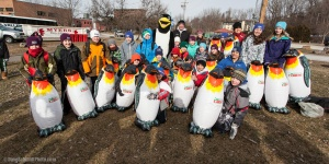 Williston Central School Penguin Plunge Team